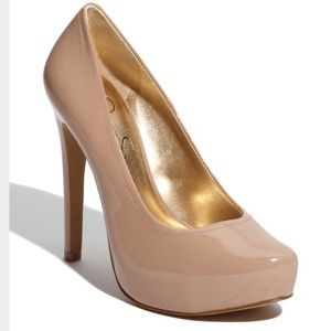 Jessica Simpson Francesca Nude Pumps - Size 8